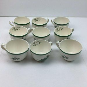 Vintage Spode Christmas Tree Porcelain China Tea